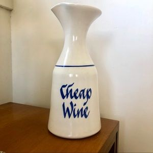 Cheap Wine Stoneware Carafe / Decanter - Vintage
